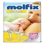 MOLFIX DIAPER 5 JUNIOR 11-18KG 44PCS
