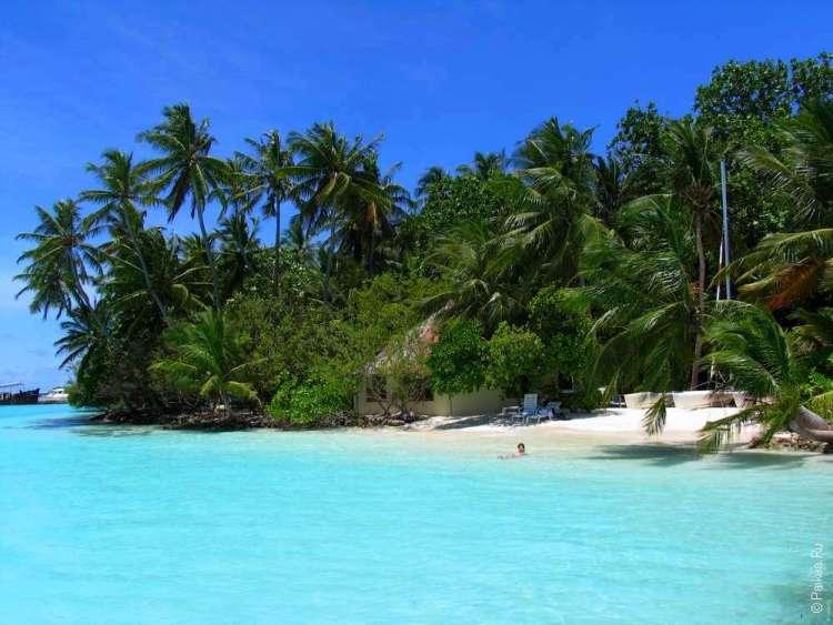 Отдых на острове в Мальдивском архипелаге