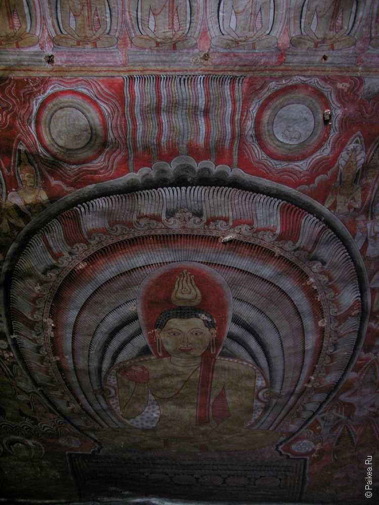 дамбулла фрески