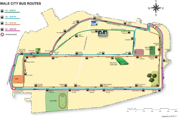 Транспорт в Мале
