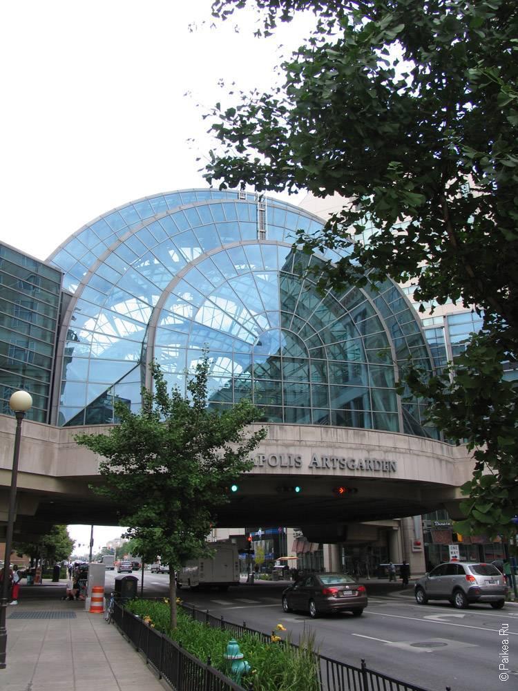 Индианаполис - Современная городская архитектура