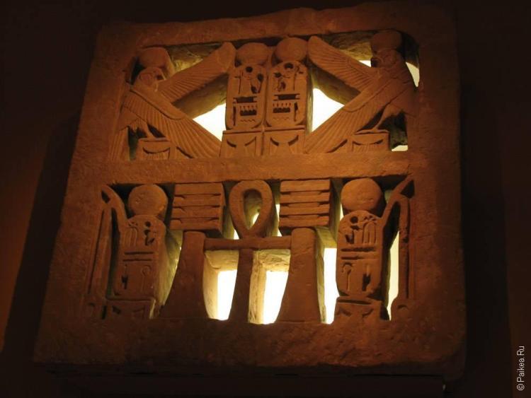 нью-йорк египетская стена