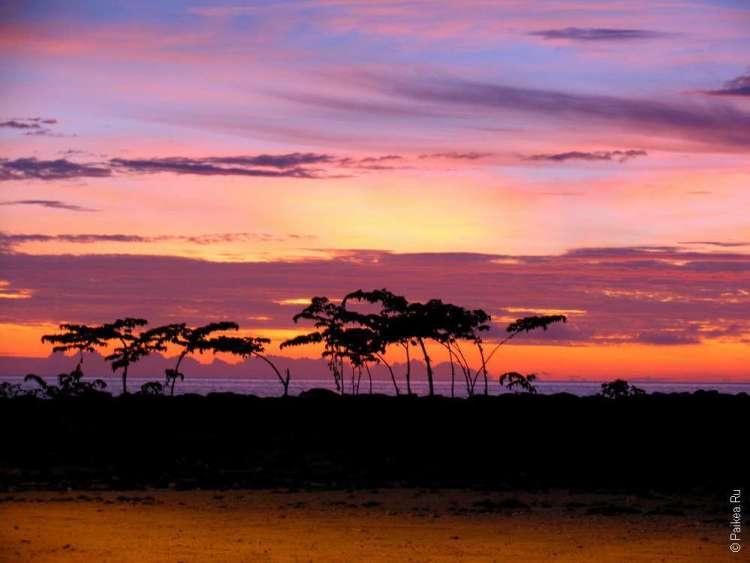 Сиреневый закат на Маафуши фото