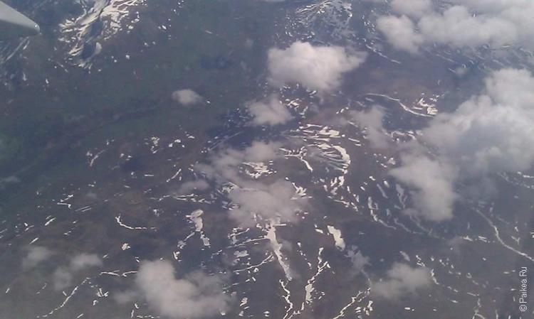 анкоридж, North Pole - горы на северном полюсе