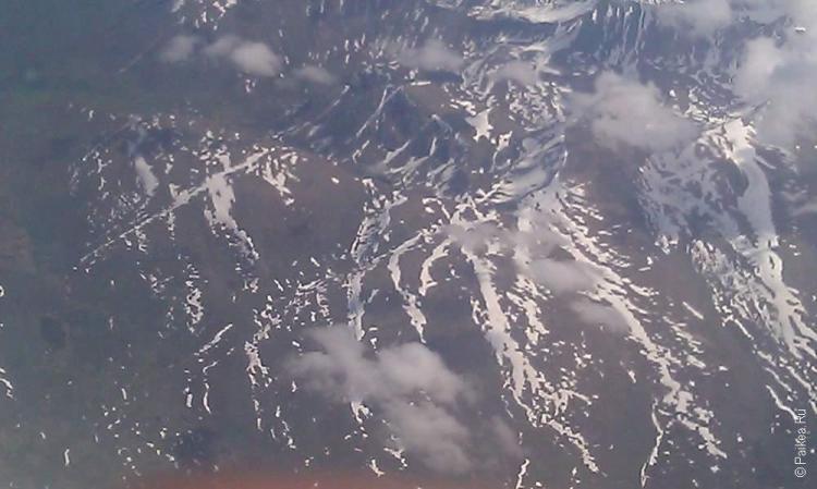 анкоридж, горы на северном полюсе