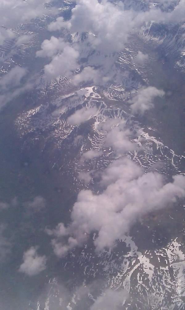 анкоридж, горы на севере земли