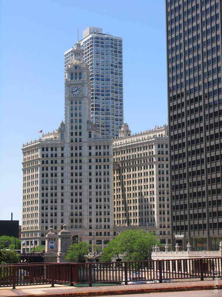 высокие здания в чикаго