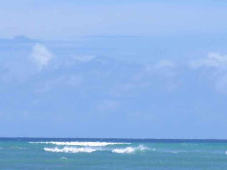 тихий океан гавайи, оаху, гонолулу