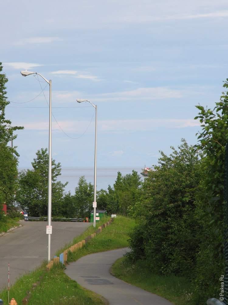 улица в городе анкоридж