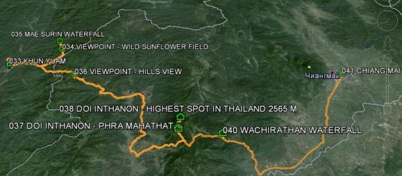 По северному Таиланду на машине - основные достопримечательности