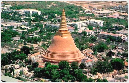 Таиланд - Накхон Патхом - Пхра Патом Чеди