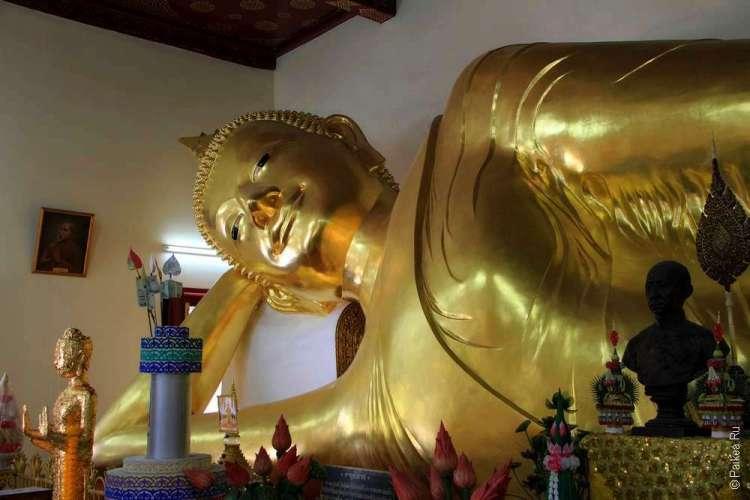 Лежащий Будда в Накхон Патхом
