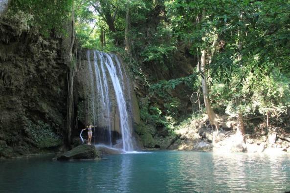 водопад эраван таиланд