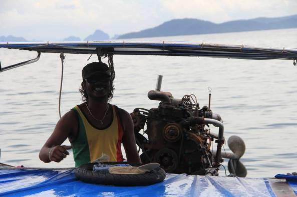 капитан лодки в таиланде