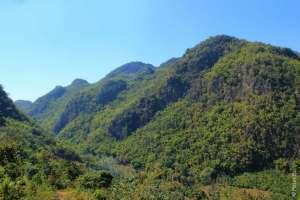 Красивые виды по дороге, Северный Таиланд