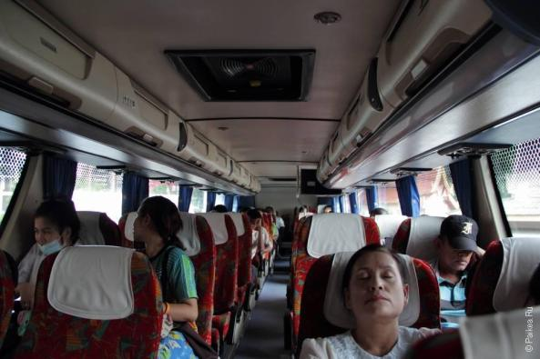 Путешествие на автобусе в Таиланде (Bus trip in Thailand)