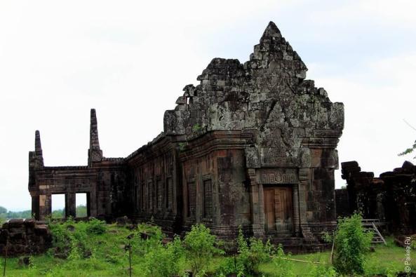 Фото южный дворец Ват Пху