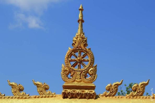 Лаос - Паксе - Достопримечательности за городом (Laos - Pakse - Off the city attractions)