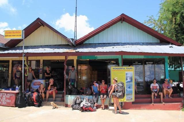 Лаос - 4000 островов - Дон Дет (Laos - Si Pha Don - Don Dhet)