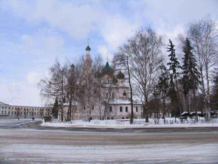 Собор Ильи-Пророка в Ярославле