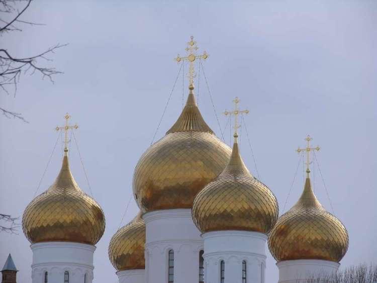 ярославль купола успенского собора
