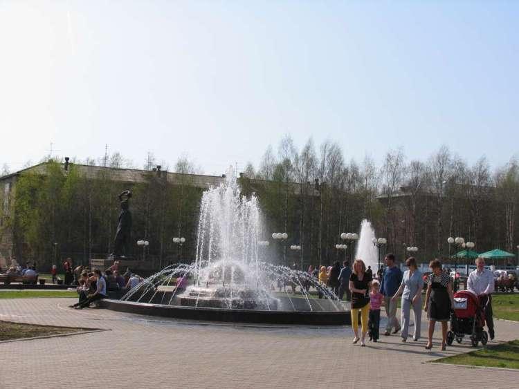 сыктывкар фонтан