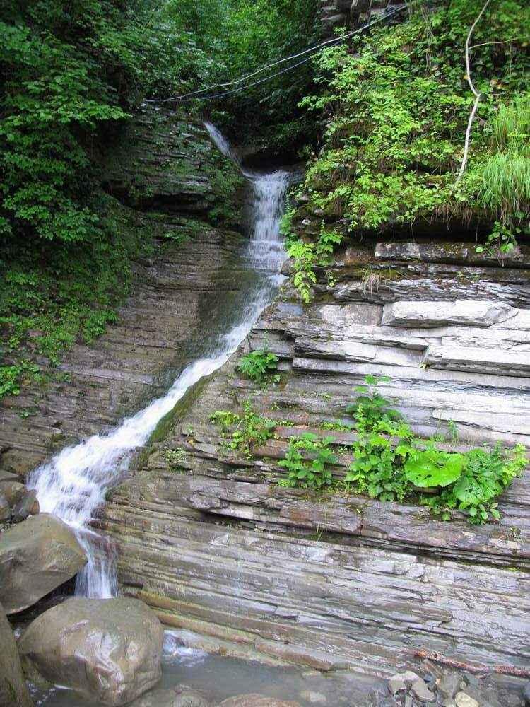 отдых в небуге водопад псыдах