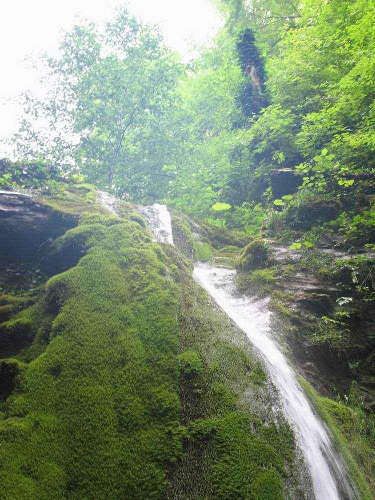 отдых в небуге водопад