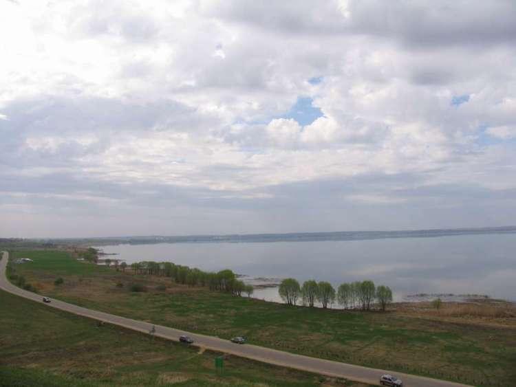 Вид на Плещеево озеро с Александровой горы