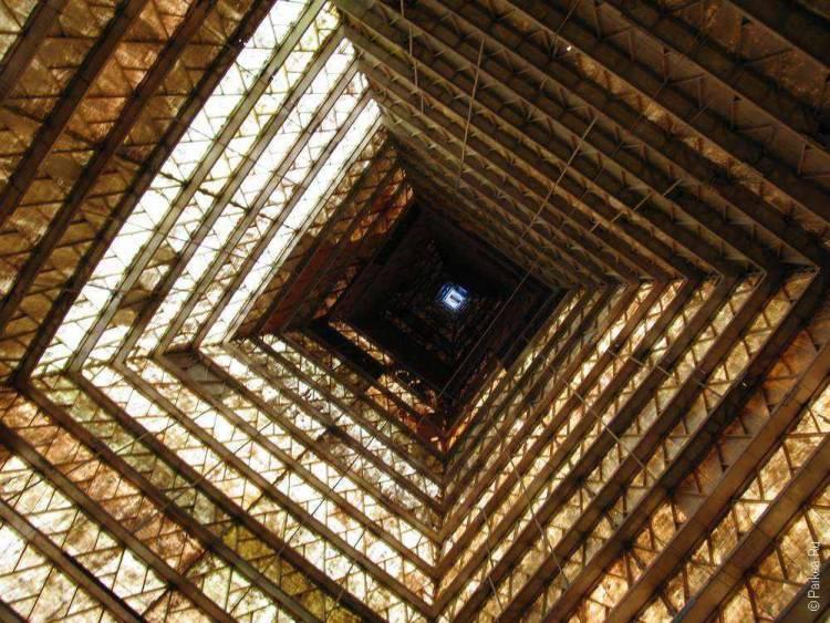 Фото внутри пирамиды голода