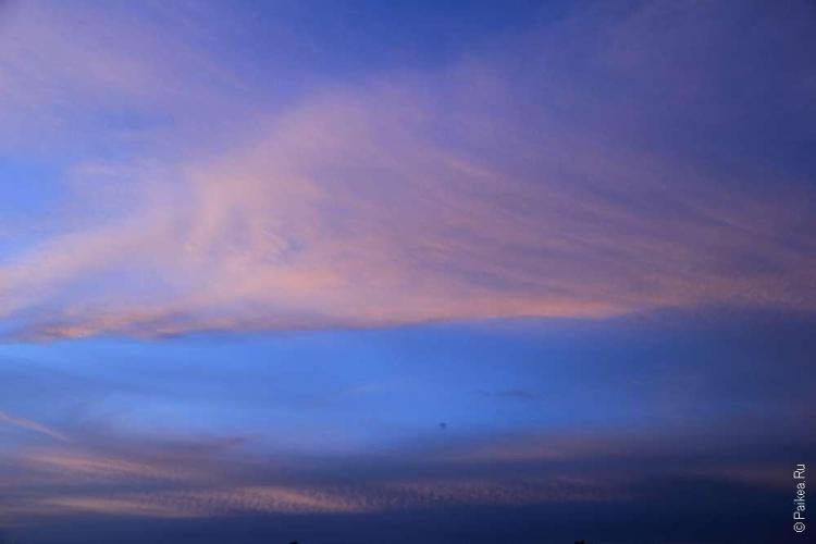 Лучшее время для заката - после того, как солнце уйдет за холмы
