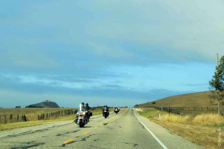 Дорога вдоль Тихоокеанского побережья США
