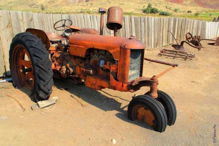 Трактор начала прошлого века