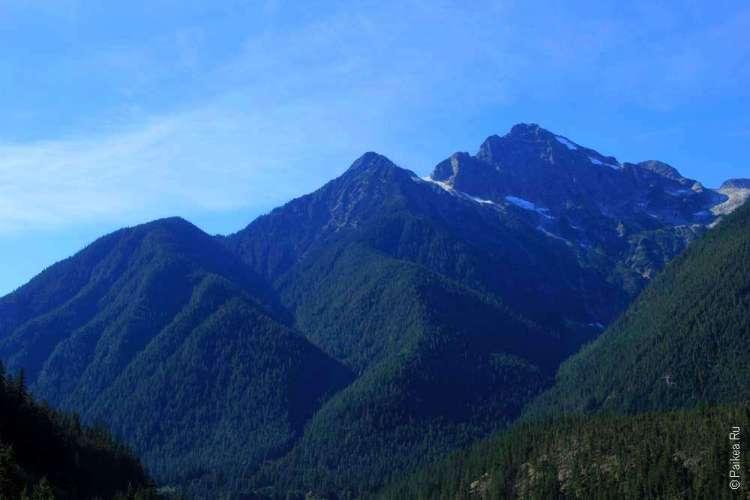 Озеро Диабло Горы в национальном парке