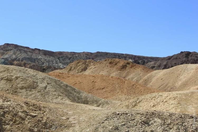 Каньон двадцати мулов, Долина Смерти, США (Death Valley, USA)