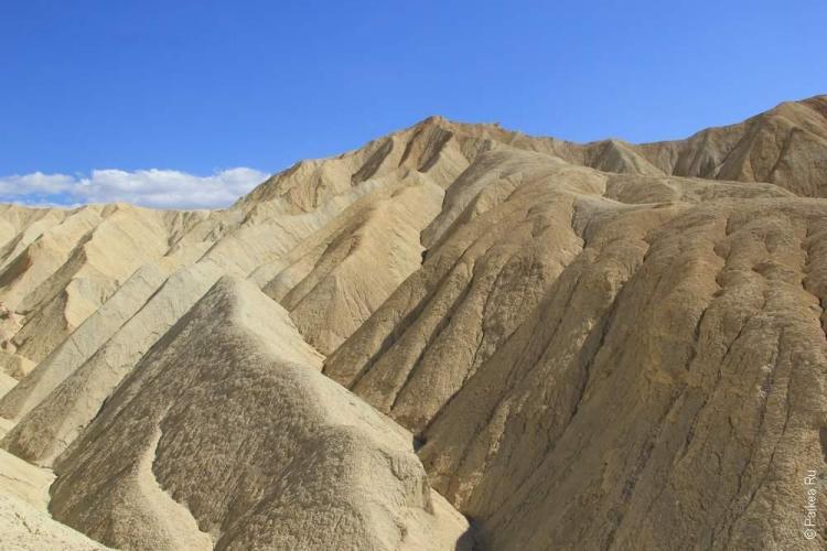 Золотой каньон, Долина Смерти, США (Death Valley, USA)
