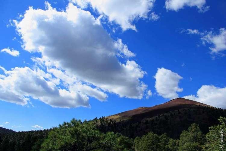 Вулкан Сансет Аризона
