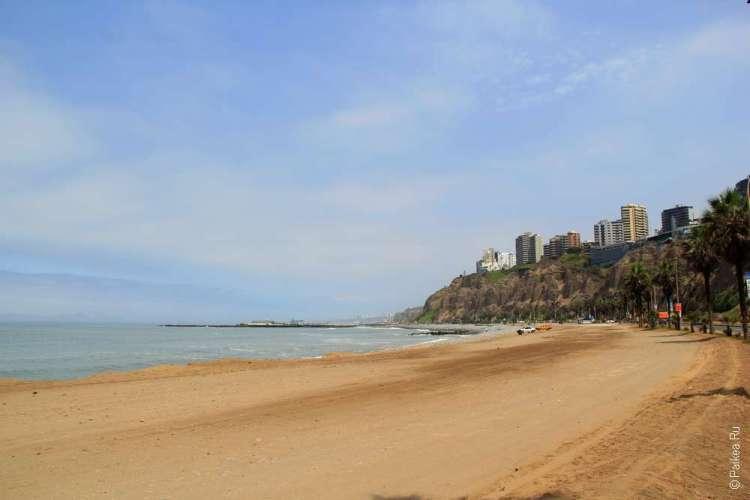 Пляж в Лиме