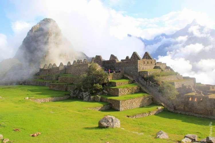 Мачу-Пикчу древний город инков