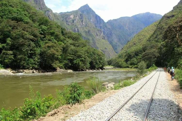 Мачу-Пикчу - от Гидроэлектрики