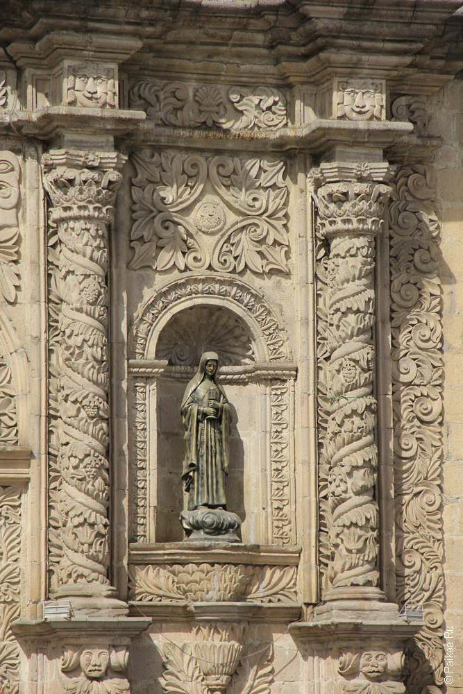Деталь собора Сан-Франциско