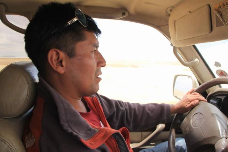 Наш водитель Росендо
