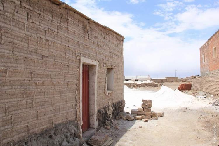 Все здания сделаны из соли