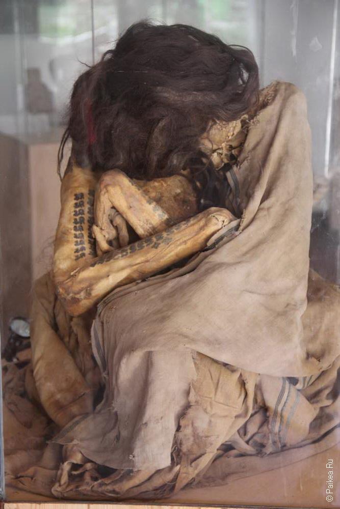 Перу - очень богатая страна, особенно на мумии