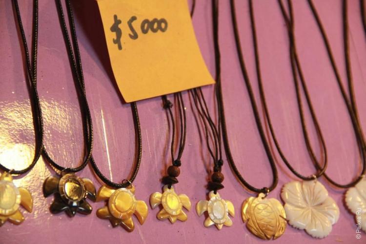 ханга роа, сувениры