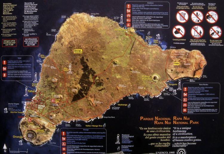 национальный парк рапа нуи, остров пасхи