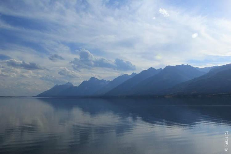 национальные парки сша гранд титон
