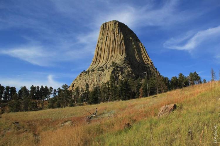 Башня Дьявола дикий запад сша