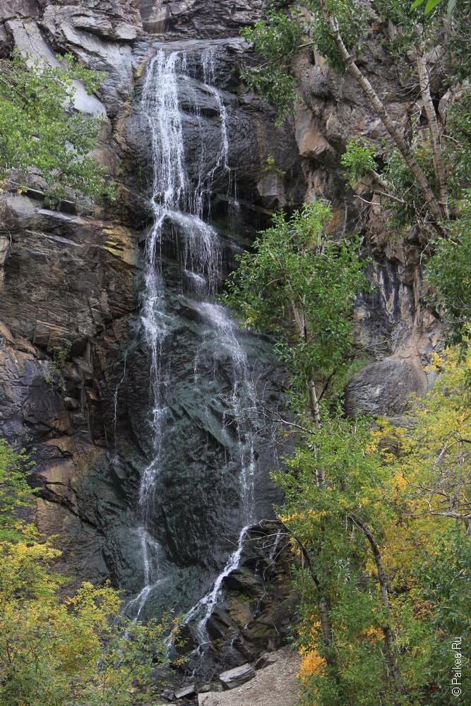 дикий запад сша водопад