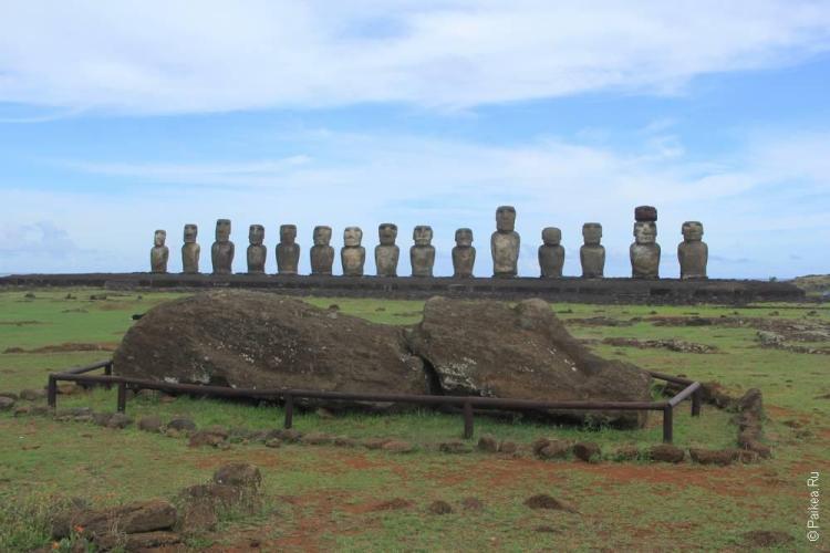 Тонгарики, Остров Пасхи (Tongariki, Easter island)